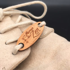 Bijoux de chaussures Chouzies Maman&Zen cerisier zoom