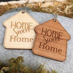 porte clés home sweet home ensemble