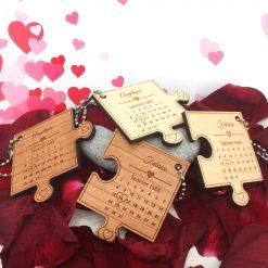 porte clés le st valentin ensemble
