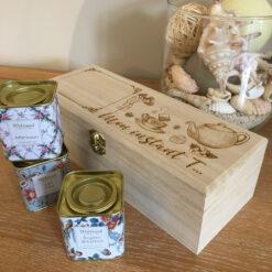 boîte à thé personnalisable