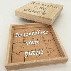 boite puzzle 100% personnalisable ensemble