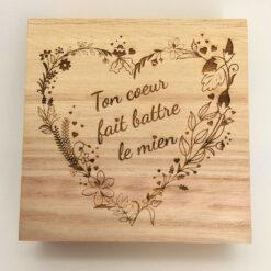 la boite puzzle des amoureux couvercle