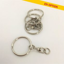 chainette porte clés métal