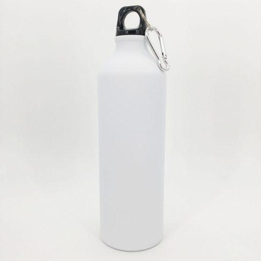 gourde blanche aluminium 800ml